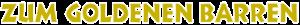 Zum Goldenen Barren Logo